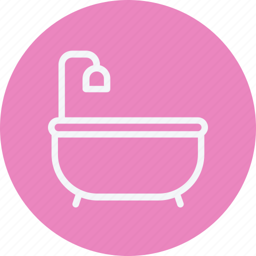 appliances, bathtub, furniture, home, house, household, room icon
