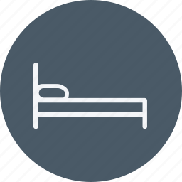 appliances, bed, furniture, home, house, household, room icon