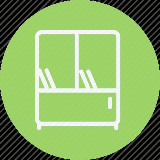 appliances, bookshelf, furniture, home, house, household, shelf icon