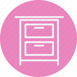 appliances, cabinet, drawer, furniture, home, house, household icon