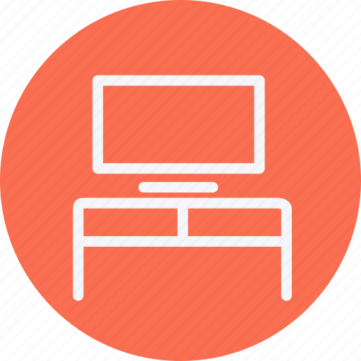 appliances, desk, furniture, home, house, household, monitor icon