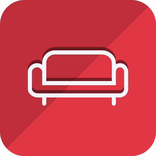 appliances, couch, furniture, house, household, interior, room icon