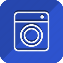 appliances, furniture, house, household, interior, room, washing machine icon