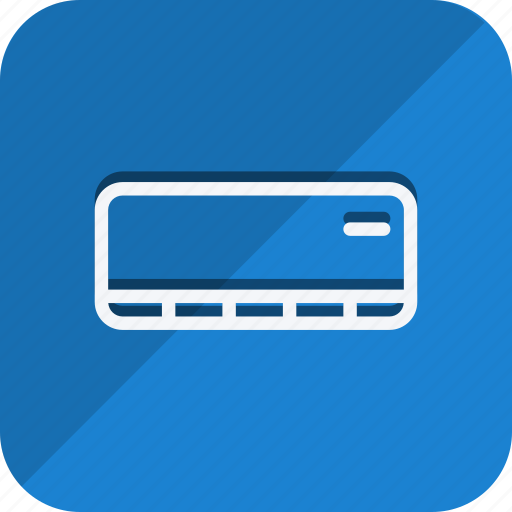 air conditioner, appliances, furniture, house, household, interior, room icon