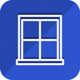 appliances, furniture, house, household, interior, room, window icon