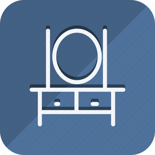 appliances, dressing table, furniture, house, household, interior, room icon