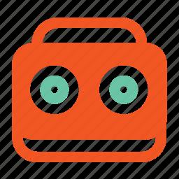 fm, music, network, radio, signal icon