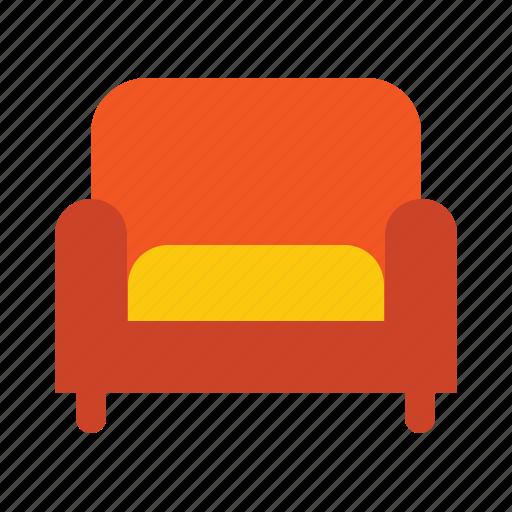 bed, chair, cloth, cusion, sofa, soft icon