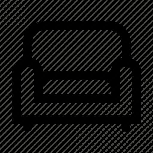 chair, cusion, sofa icon