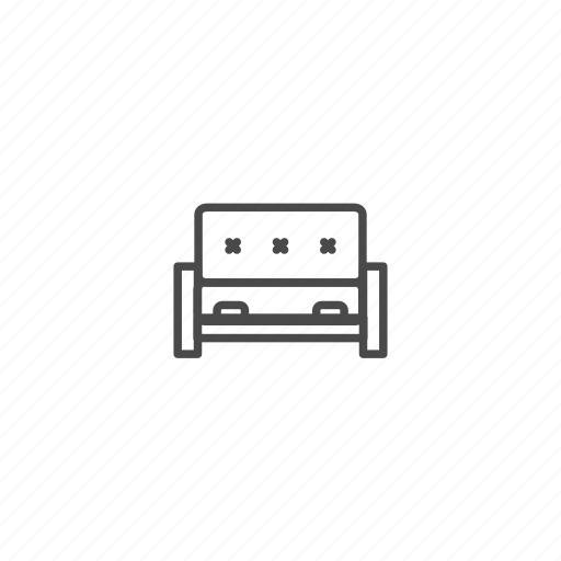belongings, couch, furniture, futon, households, interior, sofa icon