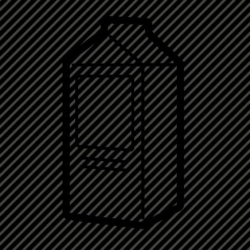 box, carton, dairy, drink, juice, milk, orange icon