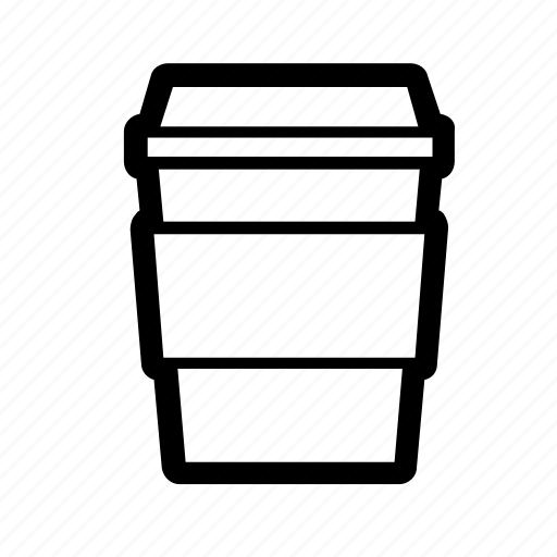 beverage, caffeine, coffee, cup, drink, starbucks, to go icon
