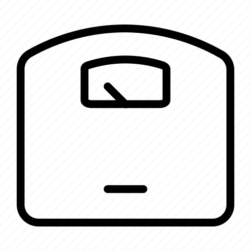 household, interior, scale, weight icon
