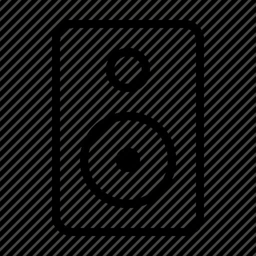 household, interior, music, speaker icon