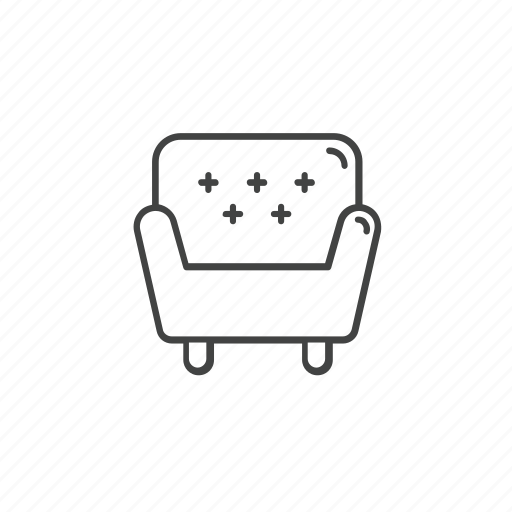 chair, couch, furniture, interior, settee, sofa icon