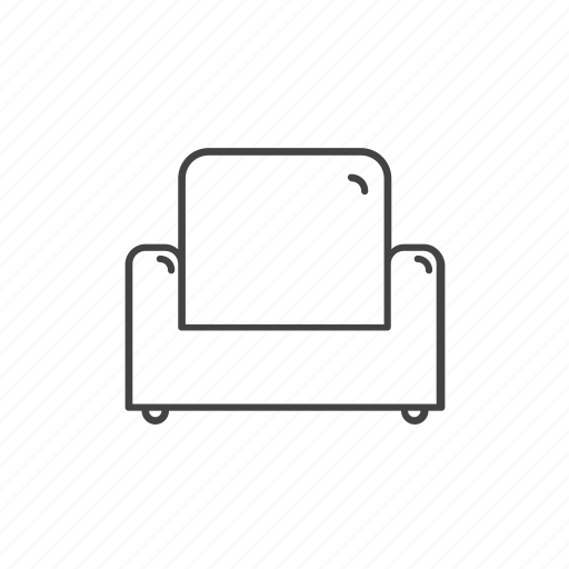 chair, couch, furniture, office, seat, sofa icon