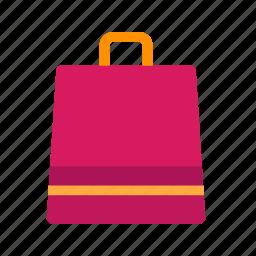 bag, fashion, handle, lifestyle, retail, sale, shopping icon