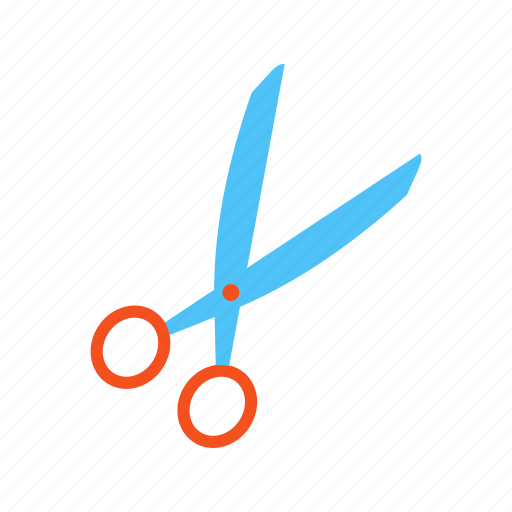 cut, hairdresser, object, scissor, scissors, style, tool icon