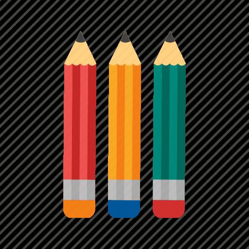 art, colorful, colour, drawing, pencil, sharp, write icon