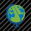 earth, globe, map, ocean, planet, sphere, world