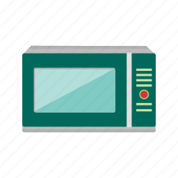 appliance, kitchen, meal, microwave, oven, timer icon