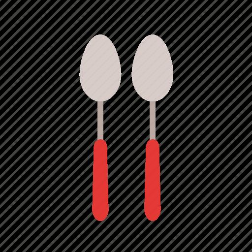 cutlery, set, silverware, spoons, tablespoon, tableware, teaspoon icon