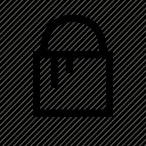 bucket, household, paint, tool icon