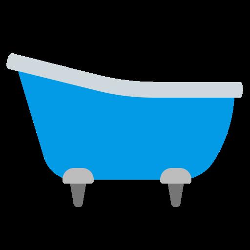 bathroom, bathtub, blue, home, house icon