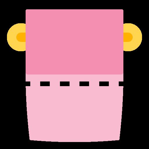 bathroom, bumf, care, house, pink icon