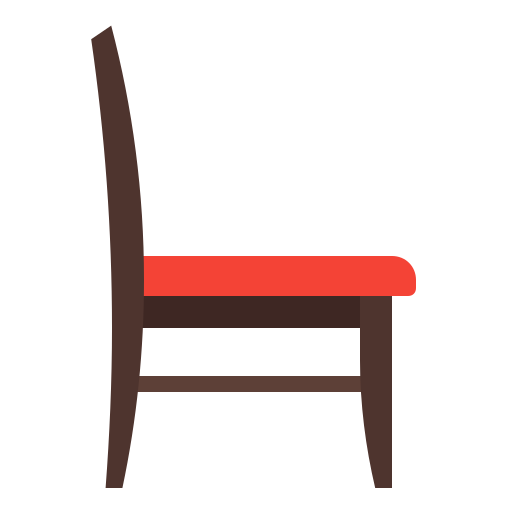 chair, furniture, house, interior, office icon