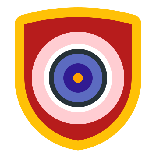 doors, eye, home, house, security icon