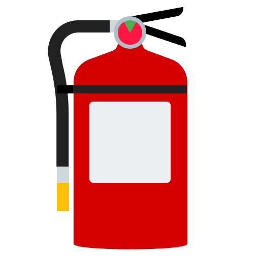 extinguisher, fire, home, house, safety icon