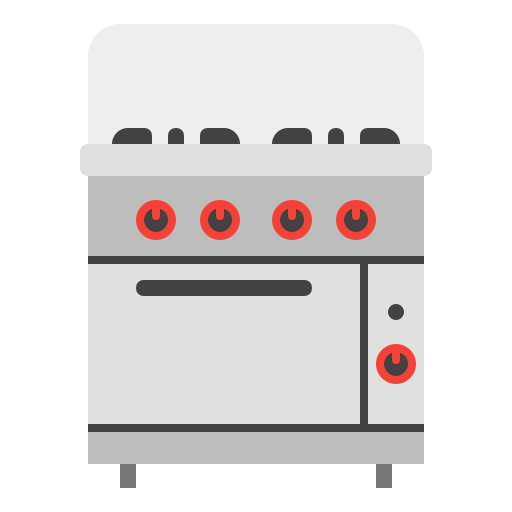 cook, gasstove, house, kitchen, oven icon