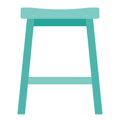 furniture, home, house, kitchen, stool icon