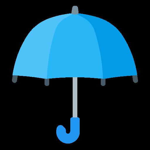 blue, house, protection, rain, umbrella icon