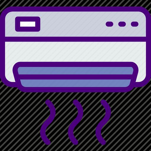 ac, appliance, furniture, household, kitchen, unit icon