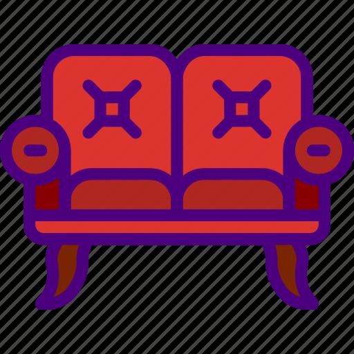 appliance, furniture, household, kitchen, sofa icon