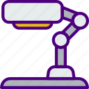 appliance, desk, furniture, household, kitchen, lamp icon