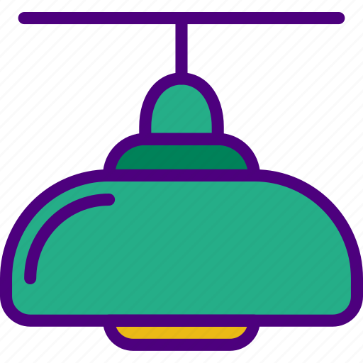 appliance, ceiling, furniture, household, kitchen, lamp icon