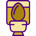 appliance, furniture, household, kitchen, toilet icon