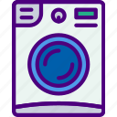 appliance, furniture, household, kitchen, machine, washing icon