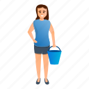business, girl, housekeeping, person, woman