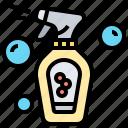 cleaning, detergent, equipment, hygiene, spray
