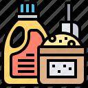 cleaner, detergent, domestic, hygiene, liquid icon