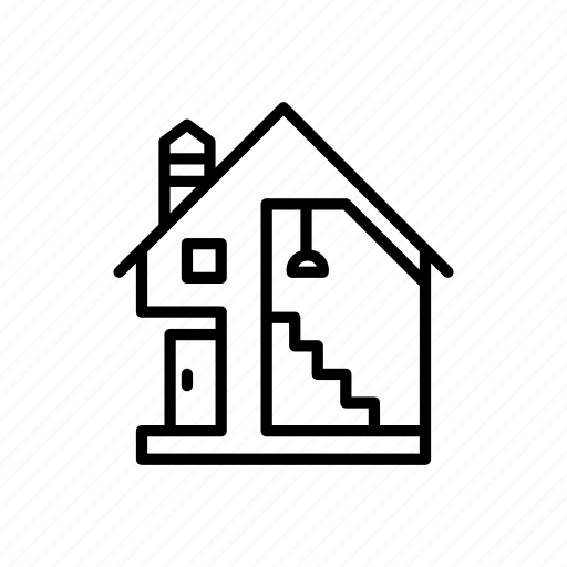 airbnb, architecture, building, home, house, property, real estate icon