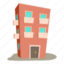 architecture, business, cartoon, design, dwelling house, logo, urban icon