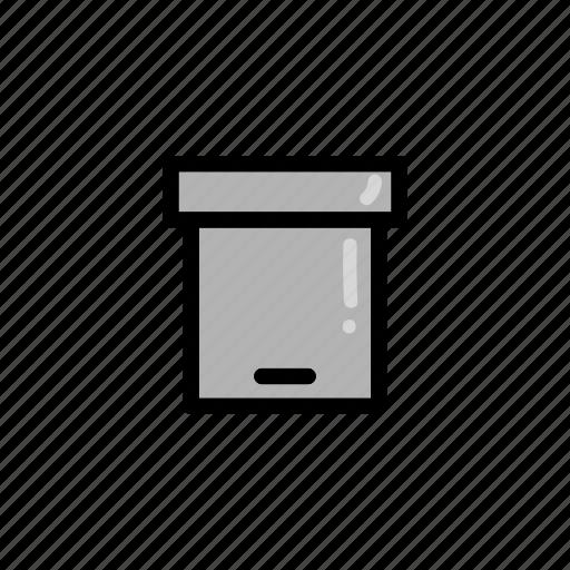bin, box, delete, keep, recycle, remove icon