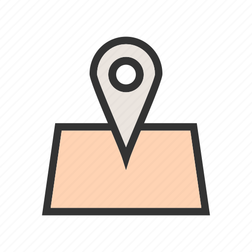 location, map, pin, place, point, pointer, sign icon