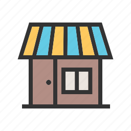 building, center, mall, retail, shop, shopping, store icon