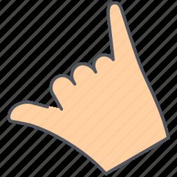 friendship, gesture, good luck, hand, language, shaka, sign icon